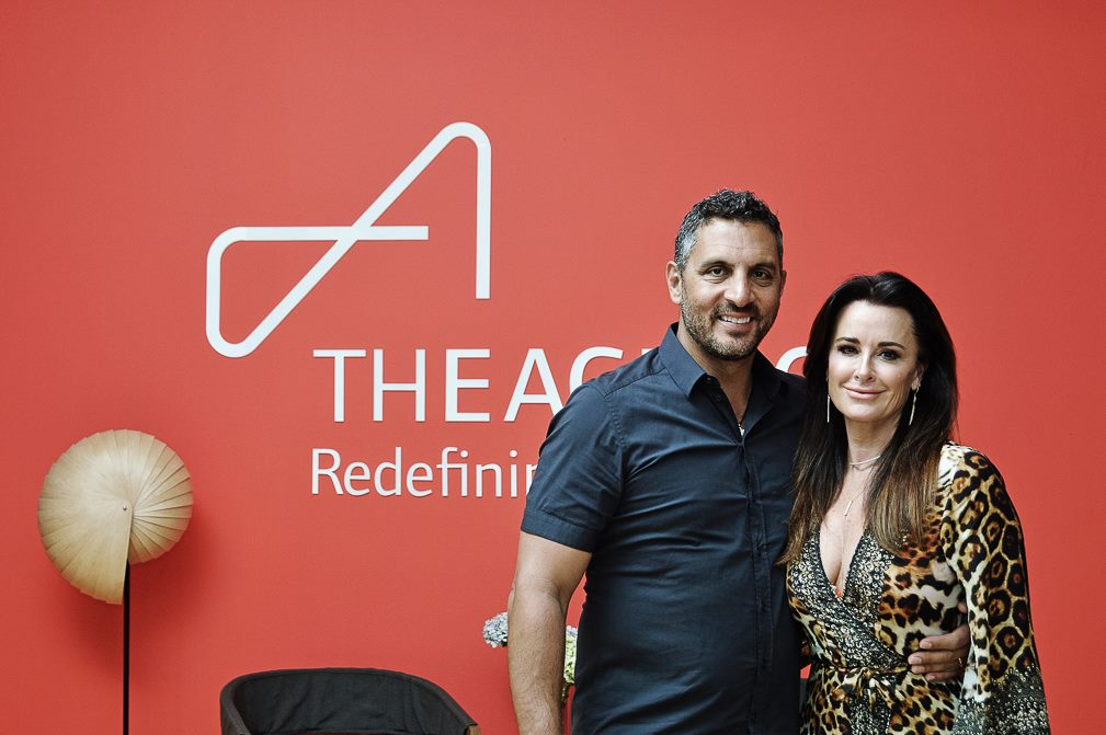 Mauricio Umansky and Kyle Richards at Punta de Mita