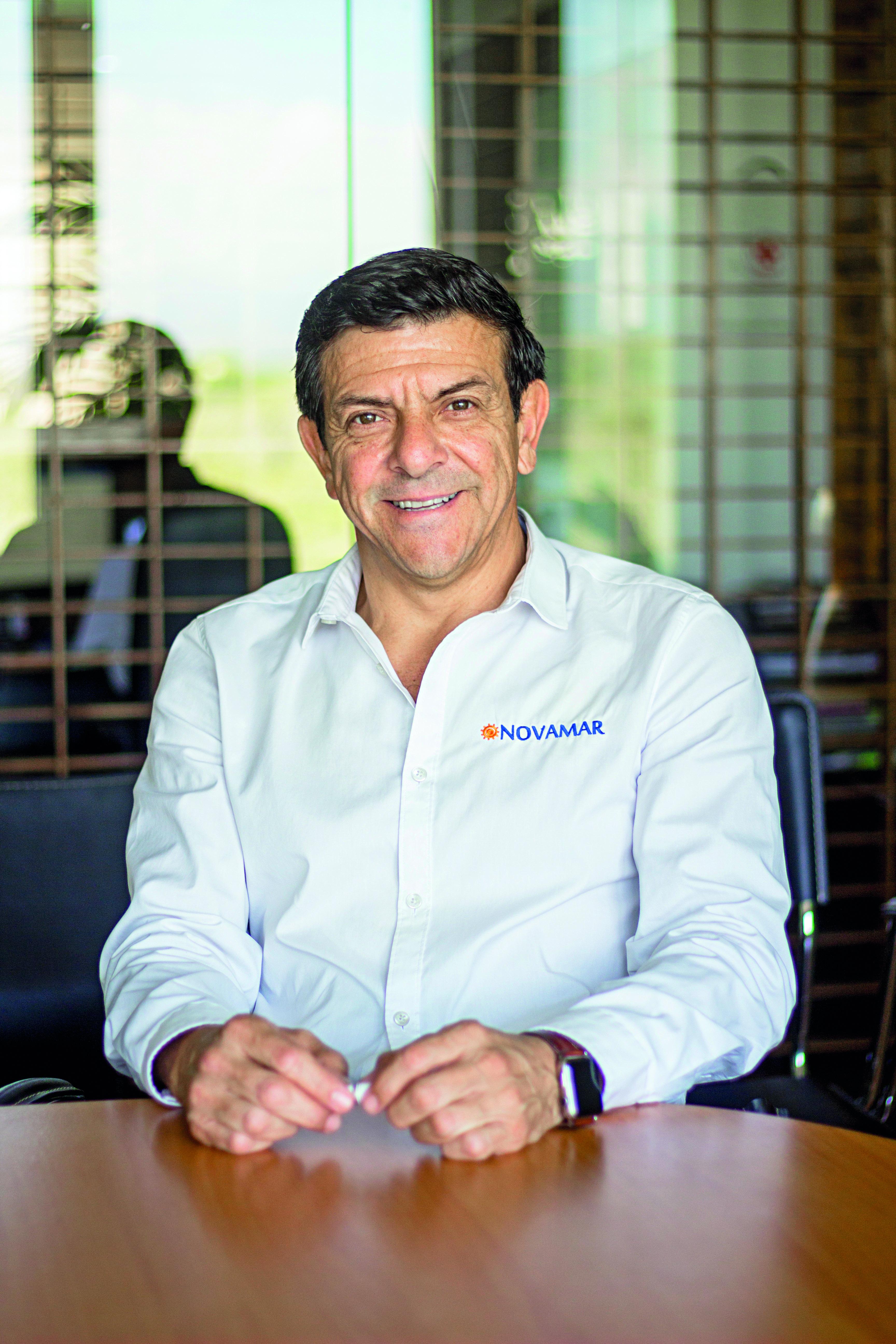 Roberto Castellanos Omaña, international general director of Novamar Insurance Mexico