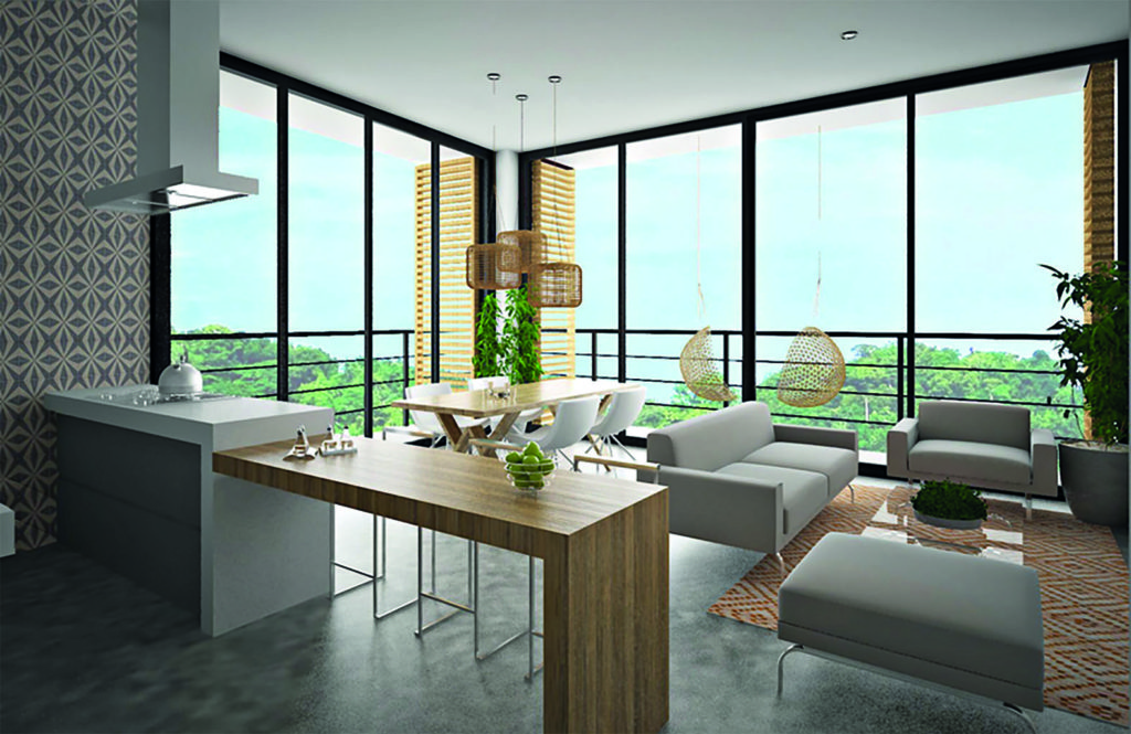 Ubicado en Bucerías, el condominio boutique contará con siete unidades repartidas en cuatro niveles.