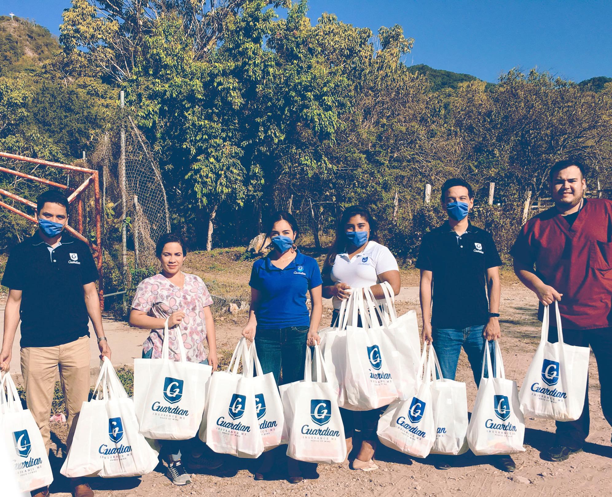 Guardian Insurance MX Realiza Labor Comunitaria